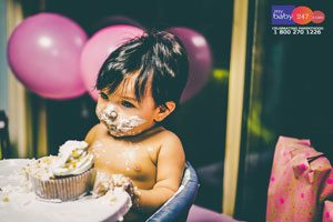 Cake Smash Photography In Delhi